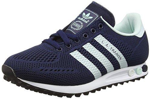 Adidas La Trainer Em, Scarpe da Ginnastica Basse Unisex - Adulto, Blu (Collegiate Navy/Ice Mint/Ftwr White), 45 1/3 EU