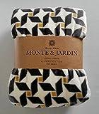 Monte & Jardin Oversize Velvet Throw - 60