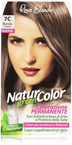 Renée Blanche - Natur Color, Colorazione Permanente, 7C Biondo Cenere