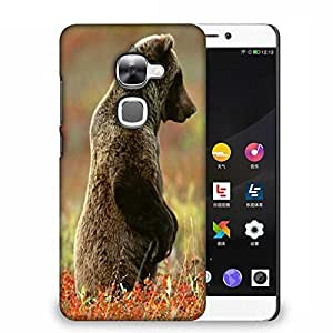 Snoogg Bear Watching Designer Protective Phone Back Case Cover For Samsung Galaxy J1