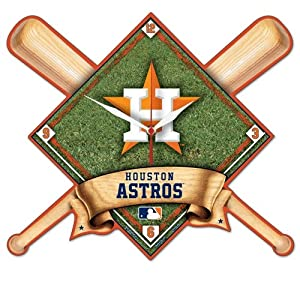 Houston Astros High Definition Wall Clock by WinCraft
