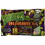 18 Pouches Boogers Gummies Candy Assorted Colors 4.64 oz (Pack of 2)