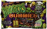 18 Pouches Boogers Gummies Candy Assorted Colors 2.64 oz (Pack of 2)
