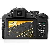 3 x atFoliX Schutzfolie Panasonic Lumix DMC-FZ150 Displayschutzfolie - FX-Antireflex blendfrei