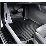 BMW All Weather Front Rubber Floor Mats 128i & 135i (2008 onwards)- Black
