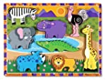 Melissa & Doug Deluxe Wooden Safari C...