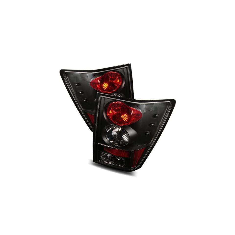 05 06 Jeep Grand Cherokee Black Tail Lights Automotive