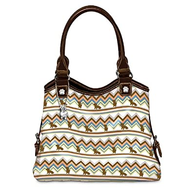 Dog Breed Fetching Fashion Handbag by The Bradford Exchange