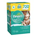 Pampers Softcare Unscented Wipes 10x Box With Tub 720 Count Baby, NewBorn, Children, Kid, Infant