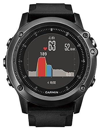 GARMIN(ガーミン) 登山 ランニングGPS fenix3J Sapphire HR フェニックス3J サファイヤHR 【日本正規品】 13382D