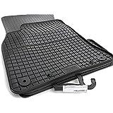 Gummi Fußmatten AUDI A4 S4 (8K/B8) Allroad A5 Sportback 4-teilig schwarz