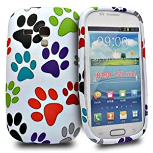 Accessory Master - Coque rigide en plastique pour Samsung Galaxy s3 mini i8190 Etapes de pied