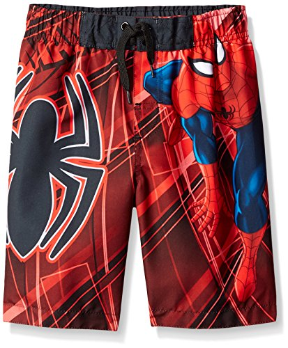 Marvel Boys' Spiderman Trunk - Little Boy, Red/Black, 4 (Marvel Trunk compare prices)
