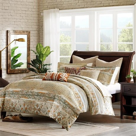 Harbor House Castle Hill Duvet Mini Set, King, Multi back-78336