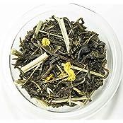 Tea Lab | Loose Leaf Green Tea With Lemon And Lemongrass (35 Gms - Makes 12-15 Cups)