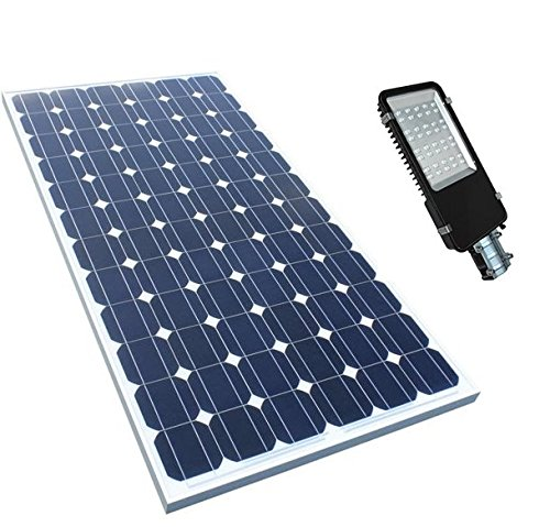 Elmech Solar panel+9W LED light luminary