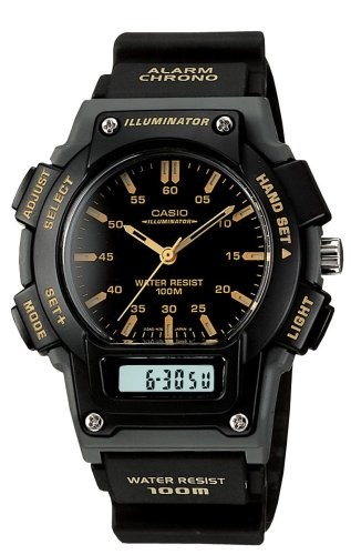 Casio Men's AQ150W-1EV Ana-Digi Chronograph Sport Watch
