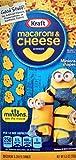 Kraft Macaroni & Cheese, Minion Shapes, 3-Pack