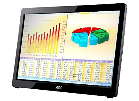 "AOC E1649FWU Ecran PC 15.6 "" (40 cm) 1366 x 768 5 milliseconds"