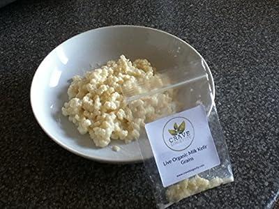 Milk Kefir Grains - Live Organically Grown