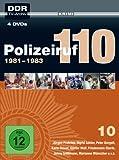 Polizeiruf 110 Box 10: 1981-1983 (DDR TV-Archiv) [4 DVDs]