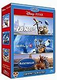 echange, troc Coffret Pixar 2010 : Wall-E + Ratatouille + Là-haut - Coffret 5 Blu-ray [Blu-ray]