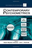 Contemporary Psychometrics (Multivariate Applications Series)