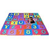 We Sell Mats 36 Alphabet and Number Floor Mat, Multi Color ~ We Sell Mats