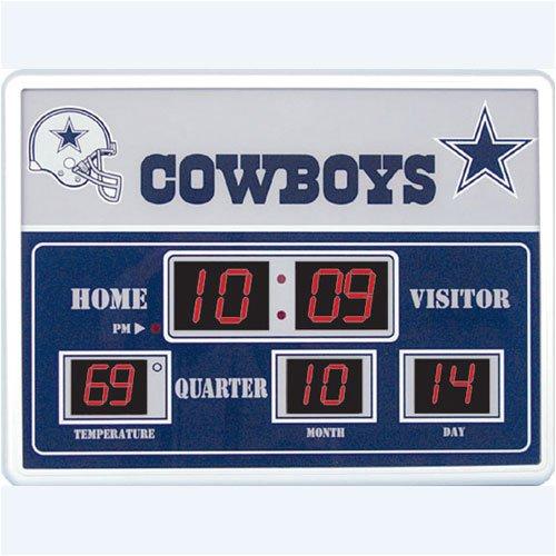 nfl scoreboard clock temperature and date manual