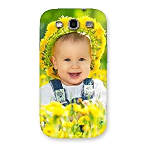 Stylish Laughing Baby Girl Back Case Cover for Galaxy S3