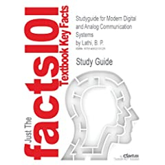 Studyguide for Modern Digital and Analog Communication Systems by Lathi, B. P. [Import] available at Amazon for Rs.2275