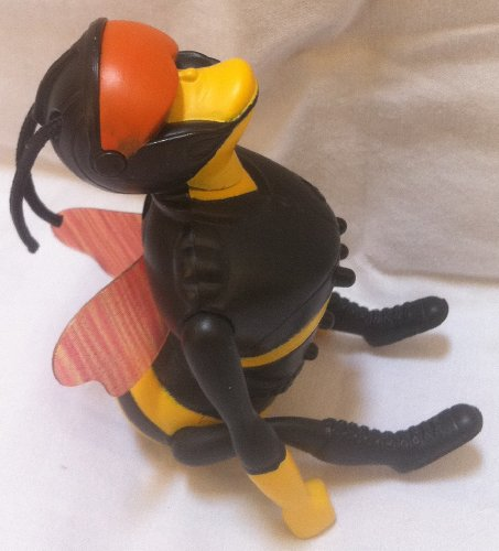 The Bee Movie Mcdonalds Happy Meal Doll Toy - 1