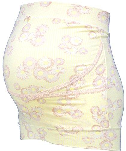 ローズマダム rosemadame ミキティコラボ 妊婦帯 産前用 デイジー柄 イエロー M-L