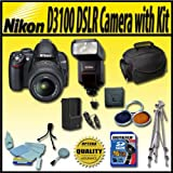 Nikon D3100 14.2MP Digital SLR Camera with