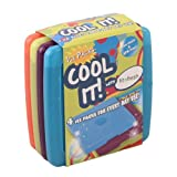 Fit & Fresh Cool Coolers Slim Lunch Ice Packs, Multicolored - Set of 4