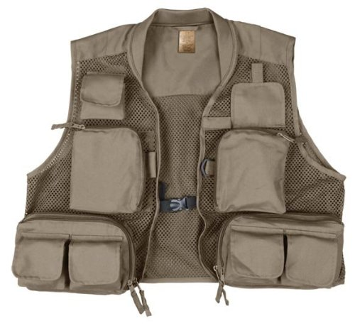 Prestige Gallatin Fishing Vest (Olive, X-Large)
