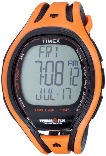 Timex T5K254 Men's IRONMAN 150-Lap TAP Screen Sleek Watch