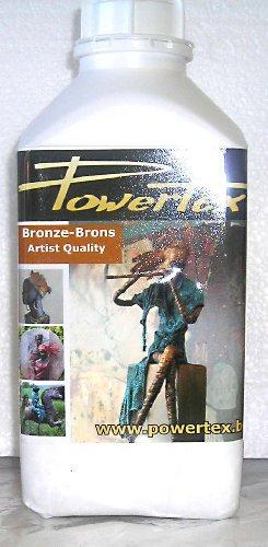 Powertex Fabric Hardener - 1 liter Bronze