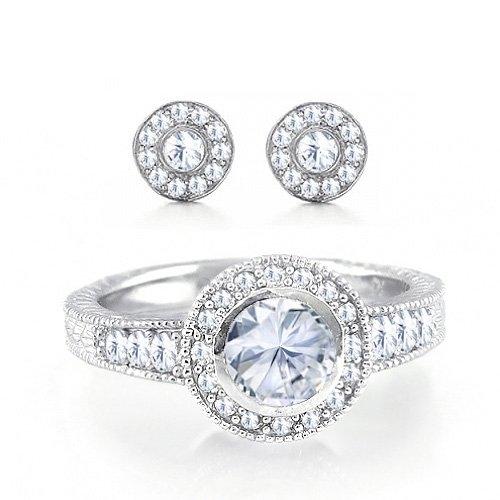 CIRCLE CUT ENGAGEMENT RINGS Circle Cut Engagement Rings Cz Ring