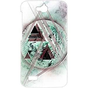 a AND b Designer Printed Mobile Back Cover / Back Case For Huawei Honor Holly (HON_HOL_3D_2415)