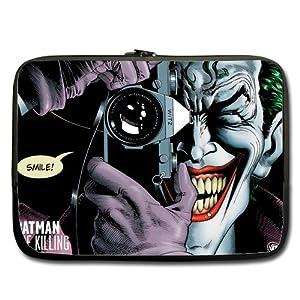 "Joker Batman 13"" Laptop Notebook Sleeve Case Bag Double"