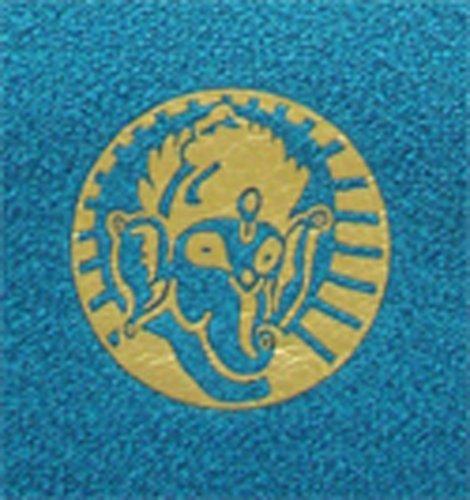 Imagen de Yogitoes Mat Skidless de Gran Tamaño de Yoga de toallas (deidad Ganesha - Teal), Color de la Deidad Ganesha - Teal, Talla Mat (24