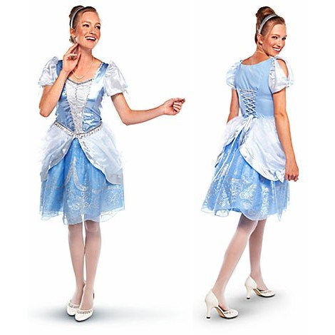 Disney Store Princess Cinderella Costume For Adult Women Size Extra Large XL 16-18