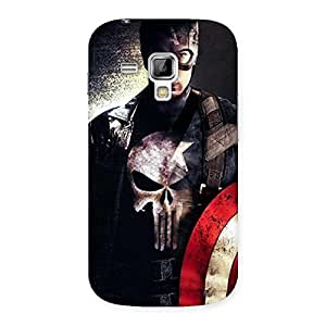 Cute Punish Sheild Multicolor Back Case Cover for Galaxy S Duos