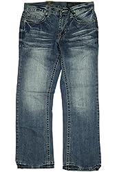 Axel Mens Wolcott Vintage Boot Cut Jeans