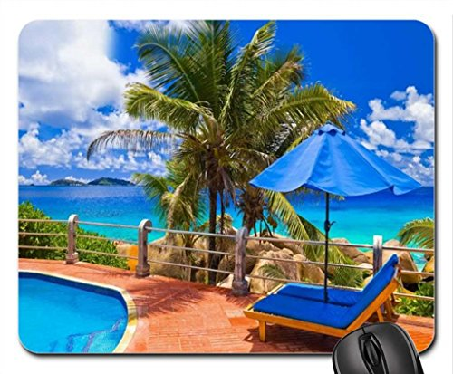 Sitting Pretty Poolside Mouse Pad, Mousepad (Sky Mouse Pad)