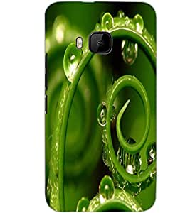 HTC ONE M9 WATER DROP Back Cover by PRINTSWAG