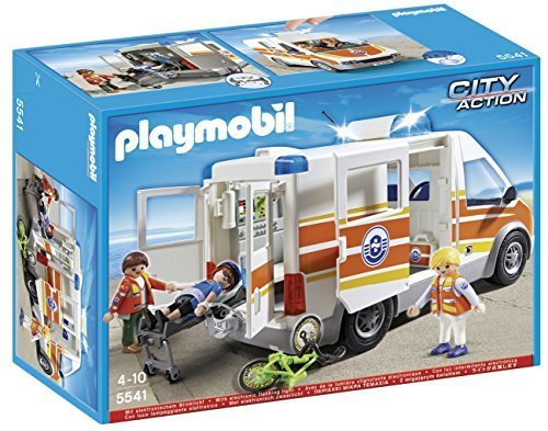 PLAYMOBIL 5541 – Ambulance with Light and Sound by PLAYMOBIL? online bestellen