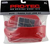 Protec Classic Plus Liner Kit Xlarge Red Skate Helmets