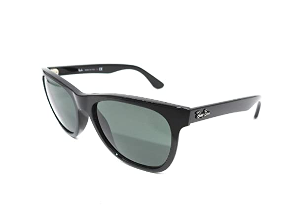 Ray-Ban RB4184 - 601/71 Sunglasses, Black/Green, 54mm (Color: Black, Tamaño: 54.1 mm)